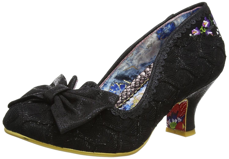 TALLA 36 EU. Irregular Choice Always Smile - Zapatos de tacón con Punta Cerrada Mujer