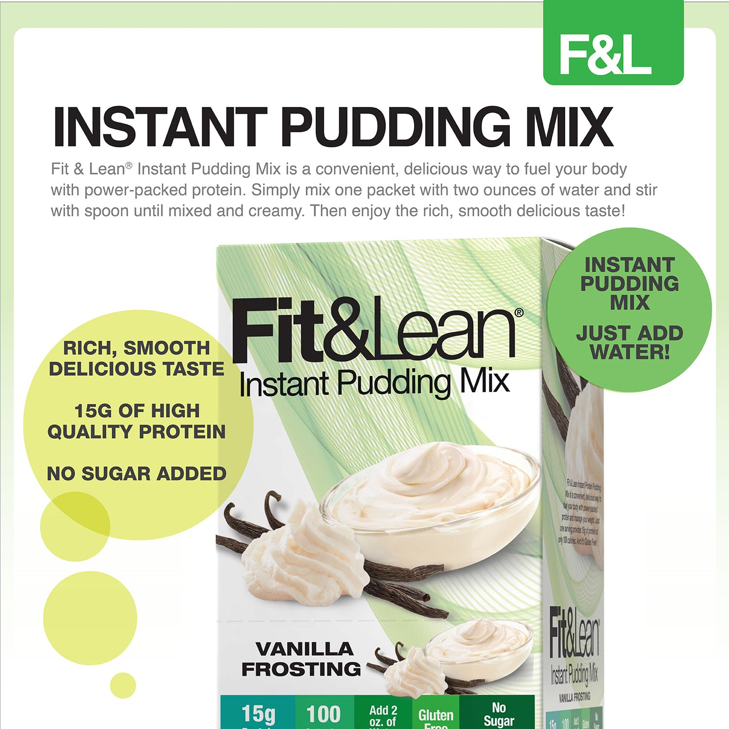 fit & smart protein pudding