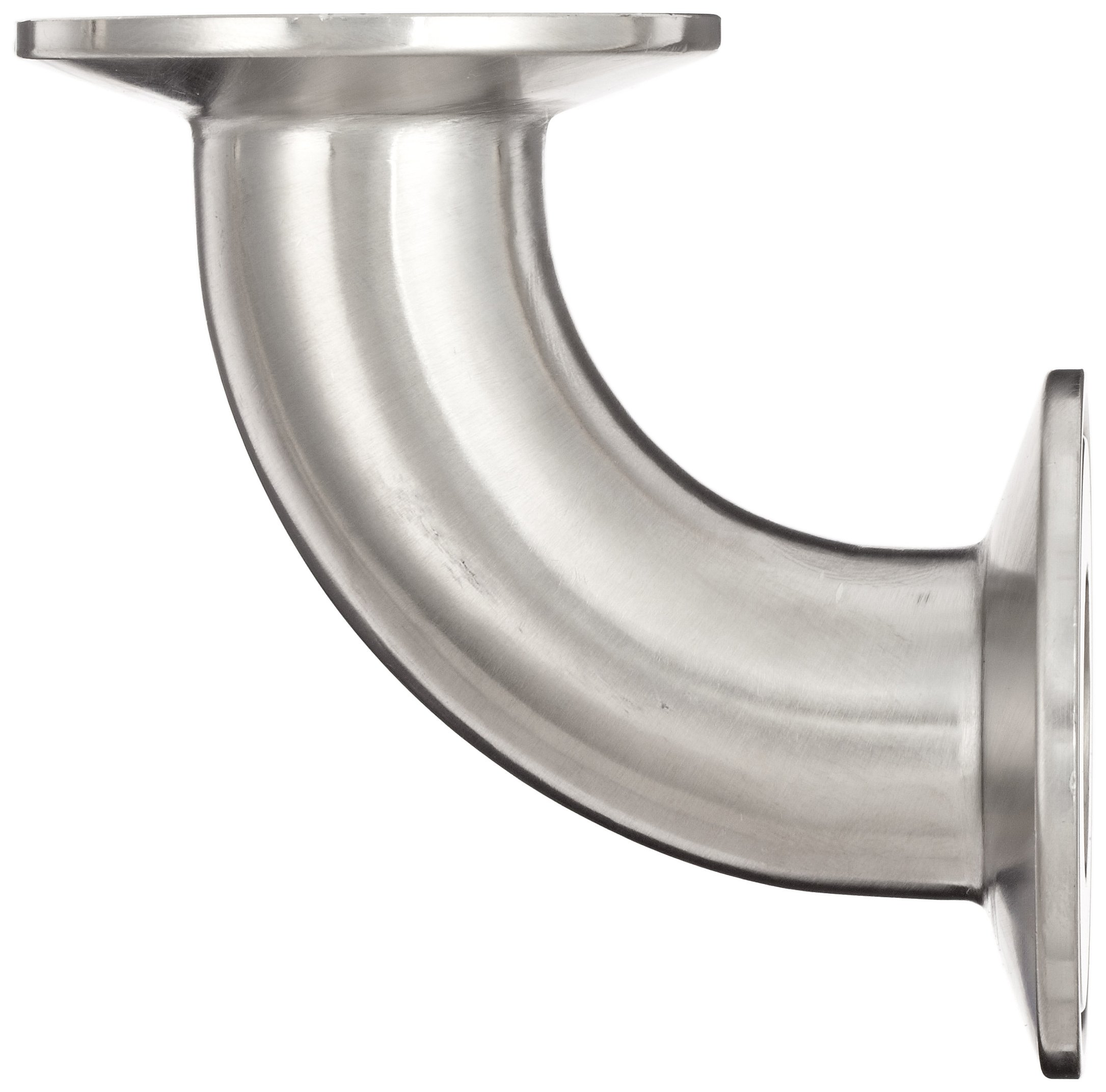 Dixon B2CMP-R100 Stainless Steel 316L Sanitary Fitting, 90 Degree Clamp Elbow, 1'' Tube OD by Dixon Valve & Coupling (Image #2)