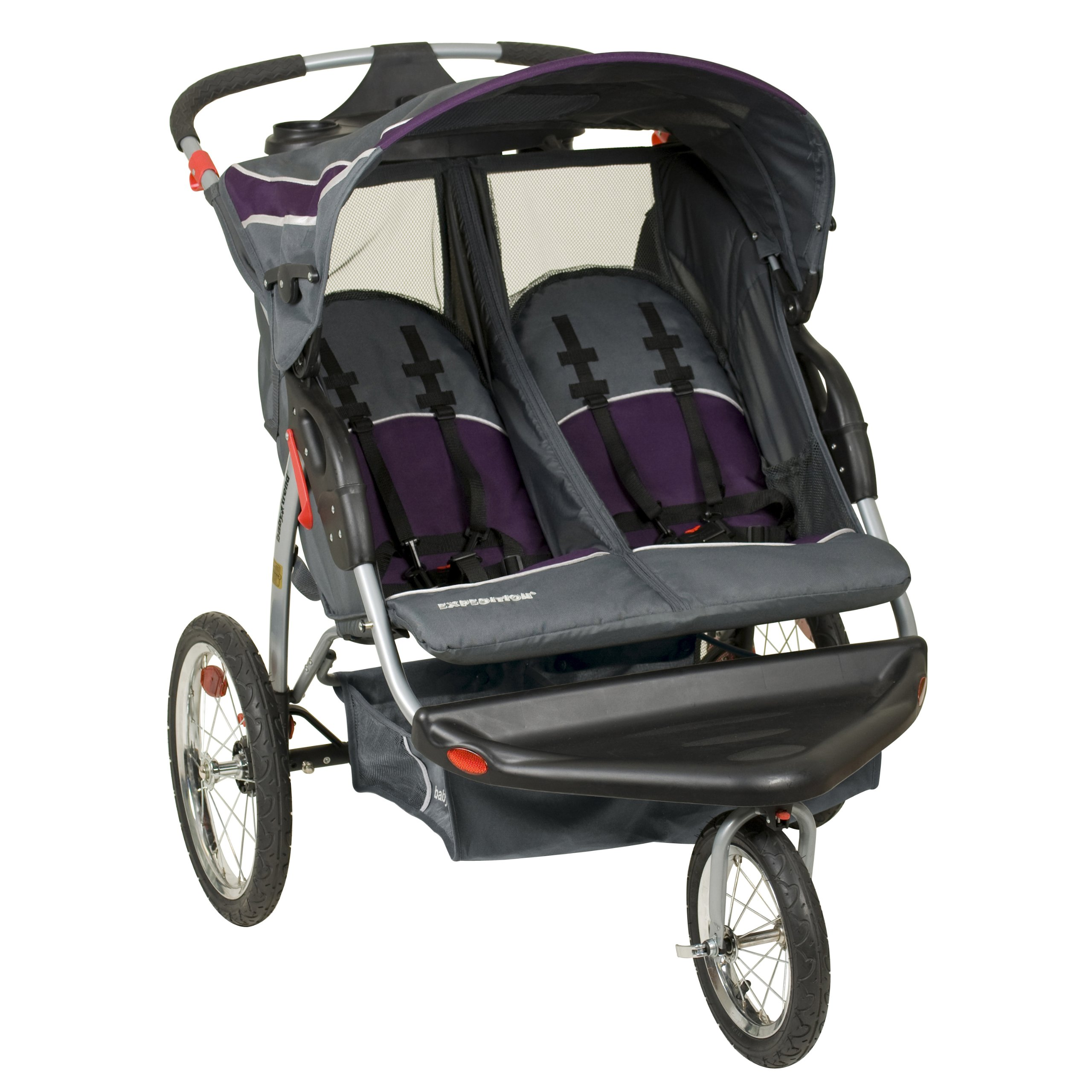 Baby Trend Expedition Double Jogger, Elixer by Baby Trend (Image #2)