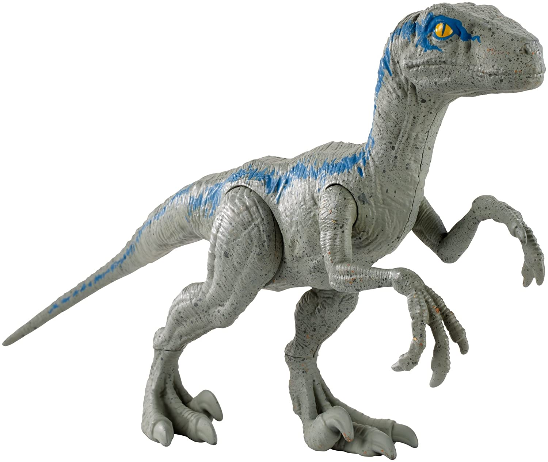 Jurassic World Basic Dino Velociraptor Blue Figure FNY41
