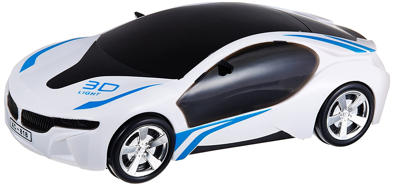 Buy Webby Tuknu V-Racing Bump and Go Racing Car 3D Light and Sound ...