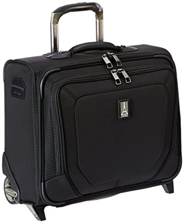a07272ada Amazon.com | Travelpro Crew 10 Rolling Tote, Black, One Size | Carry-Ons