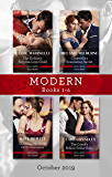 Modern Box Set 1-4/The Sicilian's Surprise Love-Child/Cinderella's Scandalous Secret/Claiming My Bride of Convenience/The Greek's Billion- (One Night With Consequences Book 58)