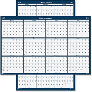 """product image for House of Doolittle Laminated Poster Style Yearly Wall Calendar, January-December, 2013, 24"""" x 37"""""""