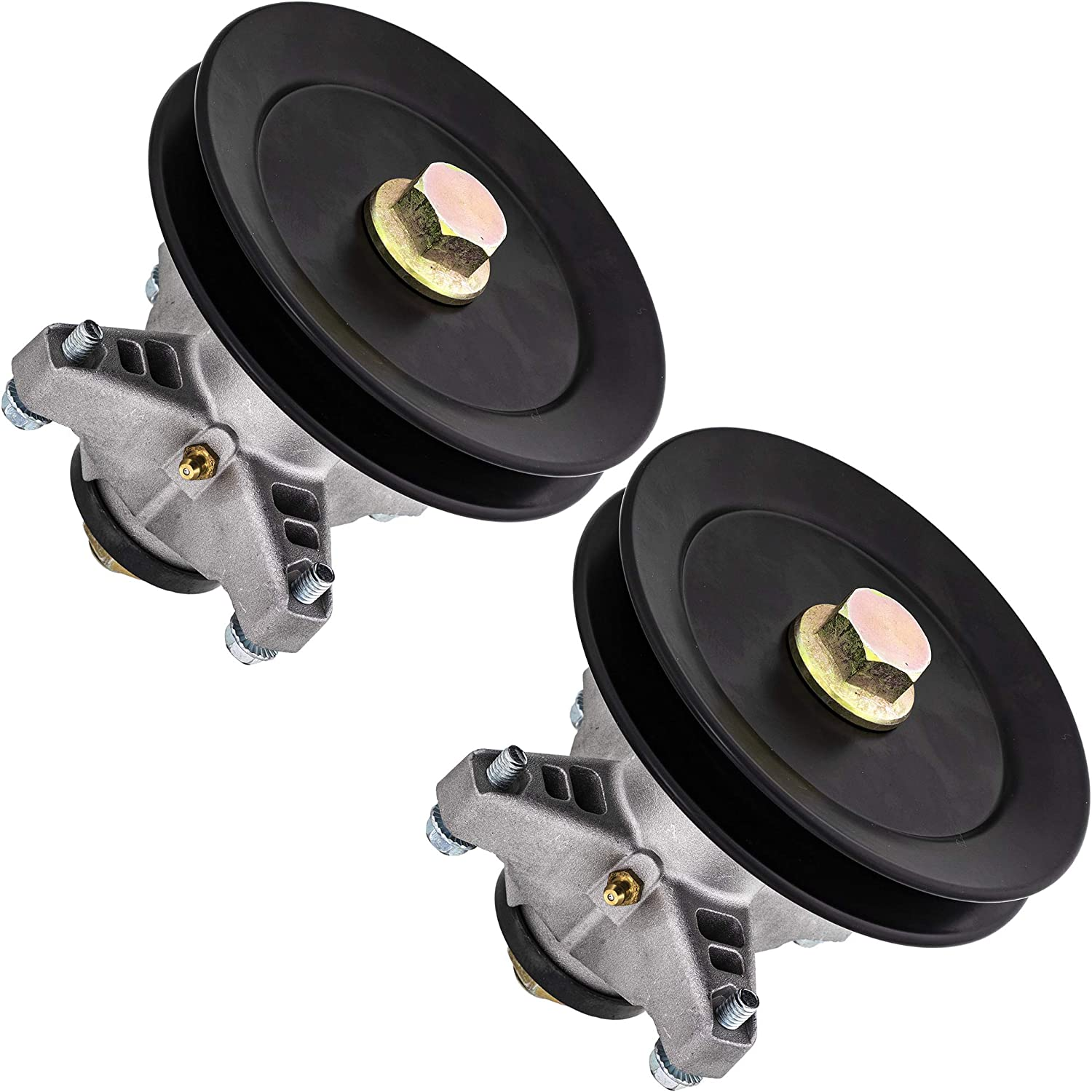 8TEN Spindle Assembly for MTD Cub Cadet 42 Inch Deck LT1042 Mower 618-04124A 918-04124A 2 Pack