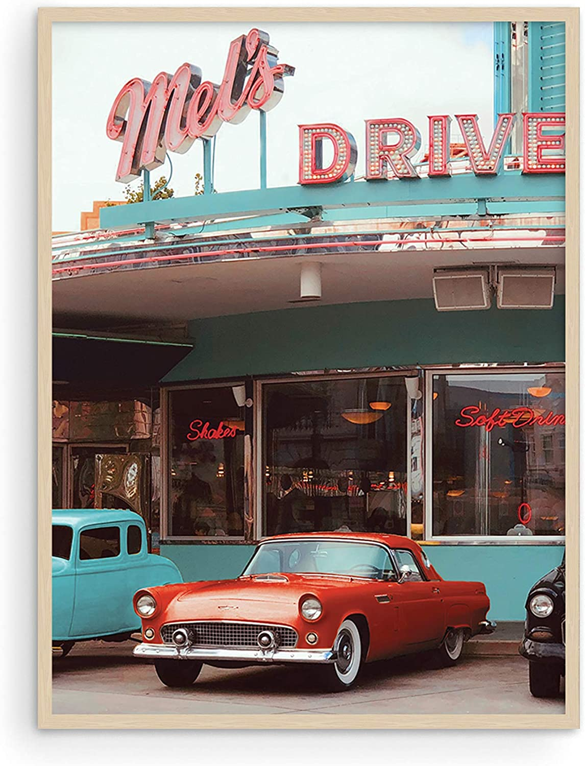 """Wall Art Vintage Car 90s Posters - By Haus and Hues 