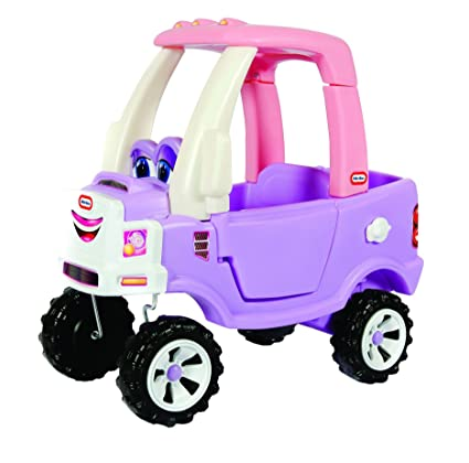Amazoncom Little Tikes Princess Cozy Truck Ride On Toys Games