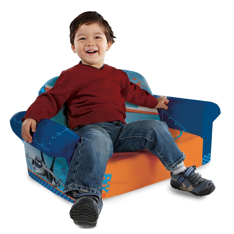 Amazon.com: Marshmallow Childrenu0027s Furniture   Planes Flip Open Sofa: Toys  U0026 Games