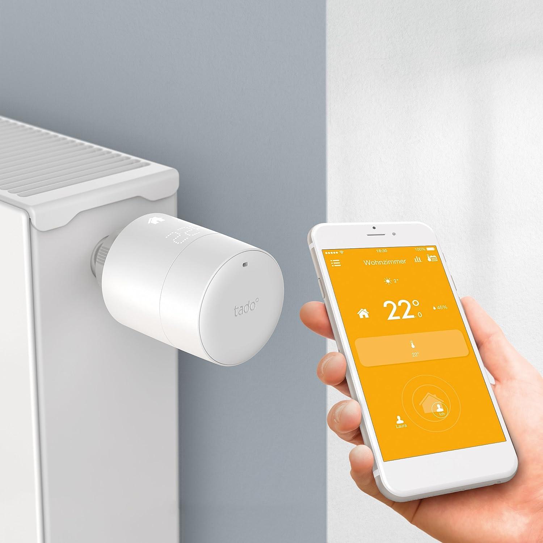 Tado -Termostato Inteligente - control inteligente de la calefacción por geolocalización y a través del smartphone: Amazon.es: Bricolaje y herramientas