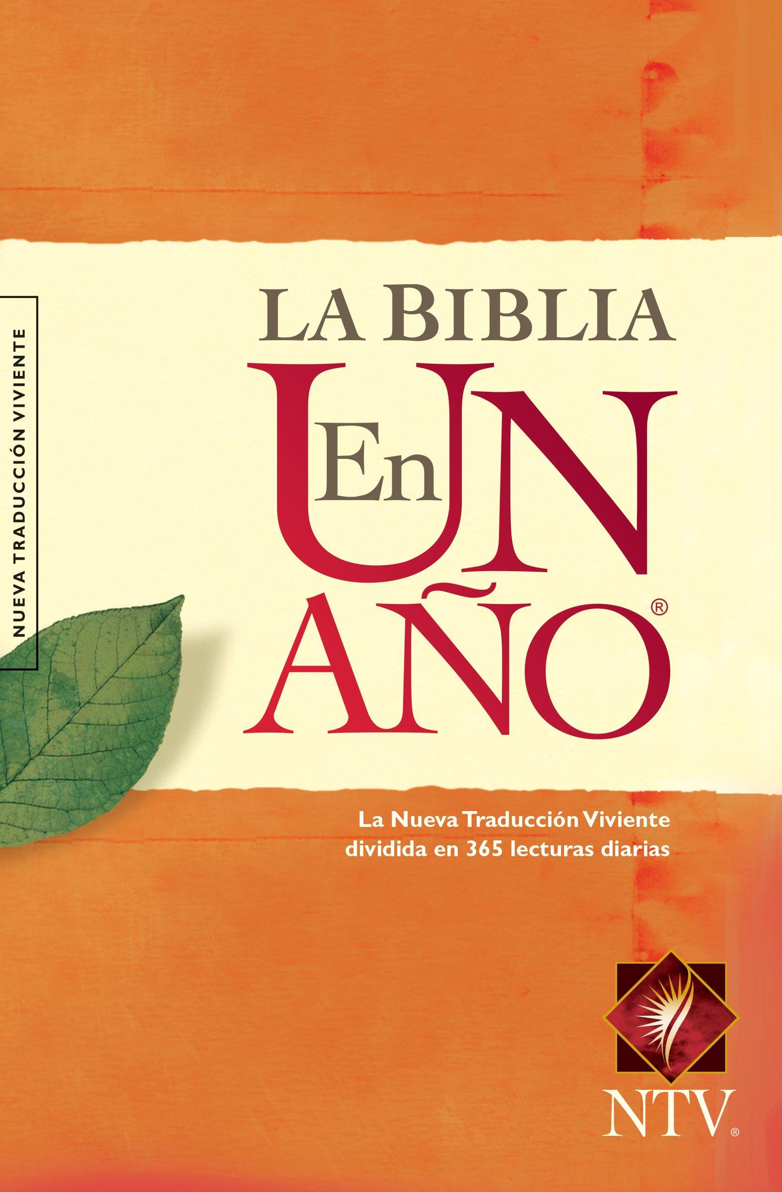 La Biblia en un Ano-Ntv: Amazon.es: Tyndale: Libros en idiomas ...