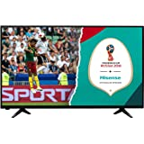 HISENSE H43AE5000 TV LED Full HD, Natural Colour Enhancer, Clean Sound 14W, Motion Picture Enhancer, Tuner DVB-T2/S2 HEVC, 2 HDMI, 1 USB Media Player