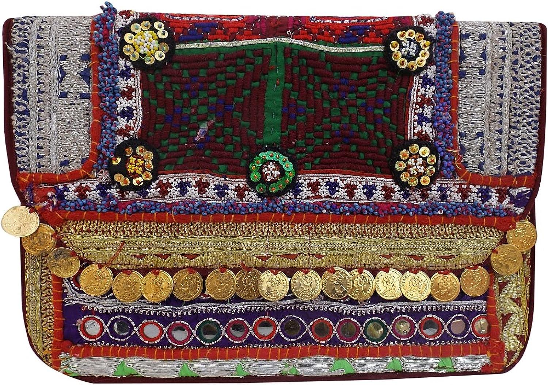 Jaipur Forever Women's Tribal Clutch Purse, Hand Purse