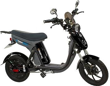 GigaByke Groove 750 Watt Motorized E-Bike - Street Legal Electric Moped  with Pedals (2018 Enhanced V2 Version)