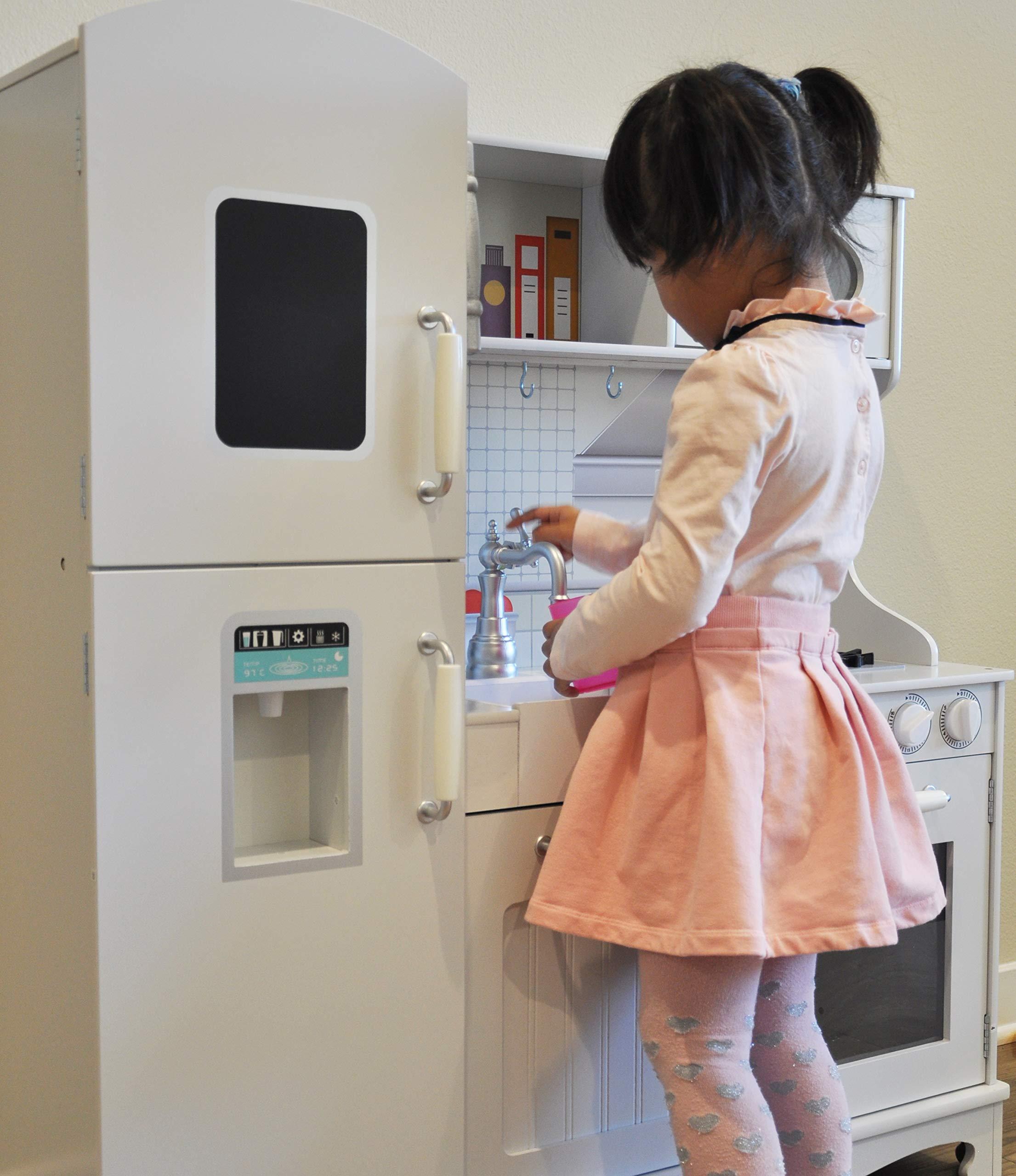 Rainbow Sophia Timeless Wood Kids Play Kitchen by Rainbow Sophia (Image #9)