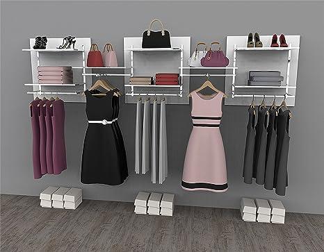 Soluzione compatta e componibile per cabina armadio o guardaroba ...