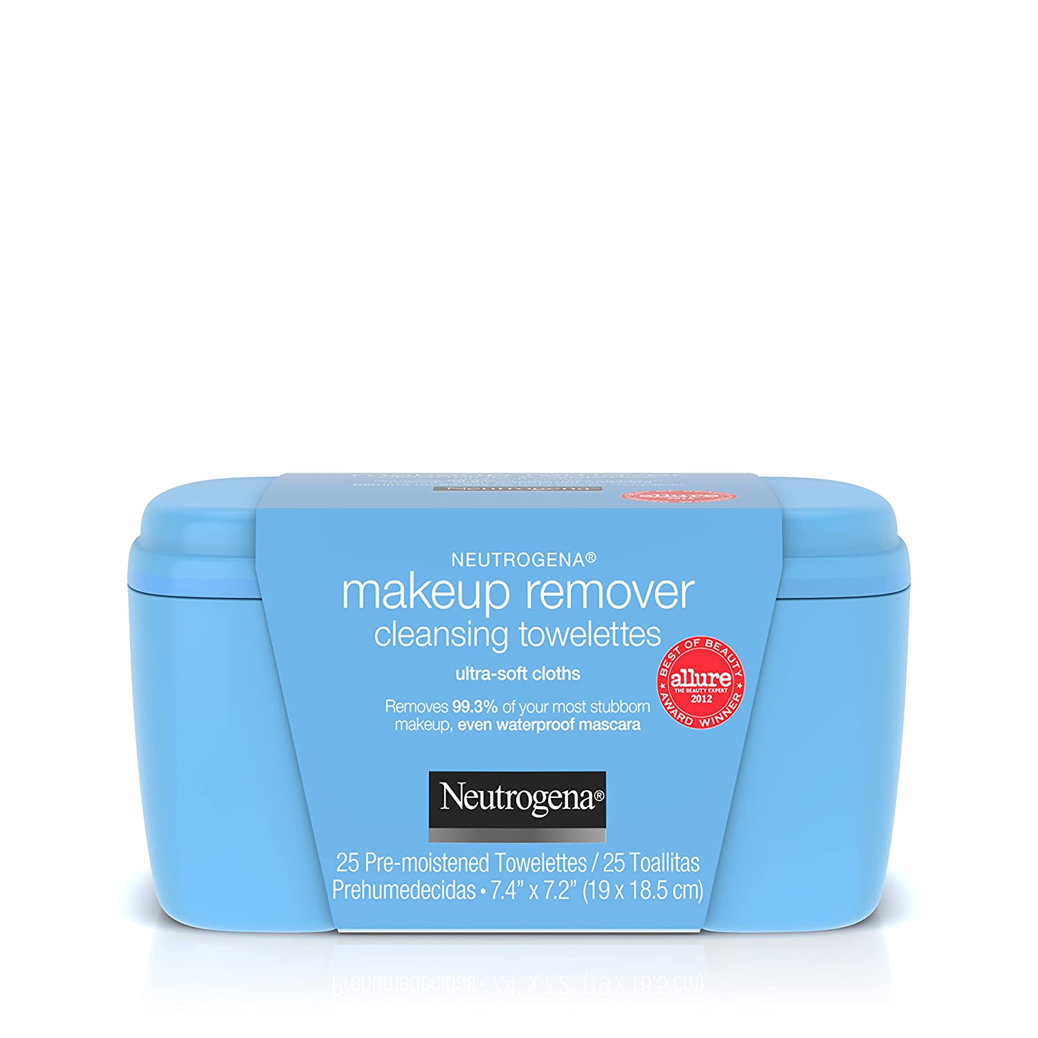Amazon.com: Neutrogena Make-Up Remover Towelettes 25 Count Ultra-Soft (6 Pack): Beauty