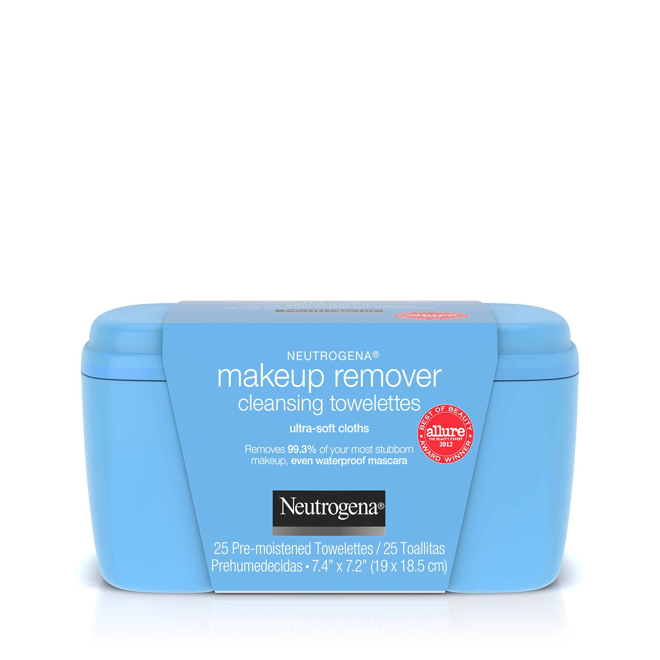 Neutrogena Makeup Remover Cleansing Towelettes & Wipes, 25 Count