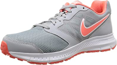 Nike Wmns Downshifter 6 MSL, Zapatillas de Running para Mujer, Gris/Blanco/Naranja, 38.5 EU: Amazon.es: Zapatos y complementos