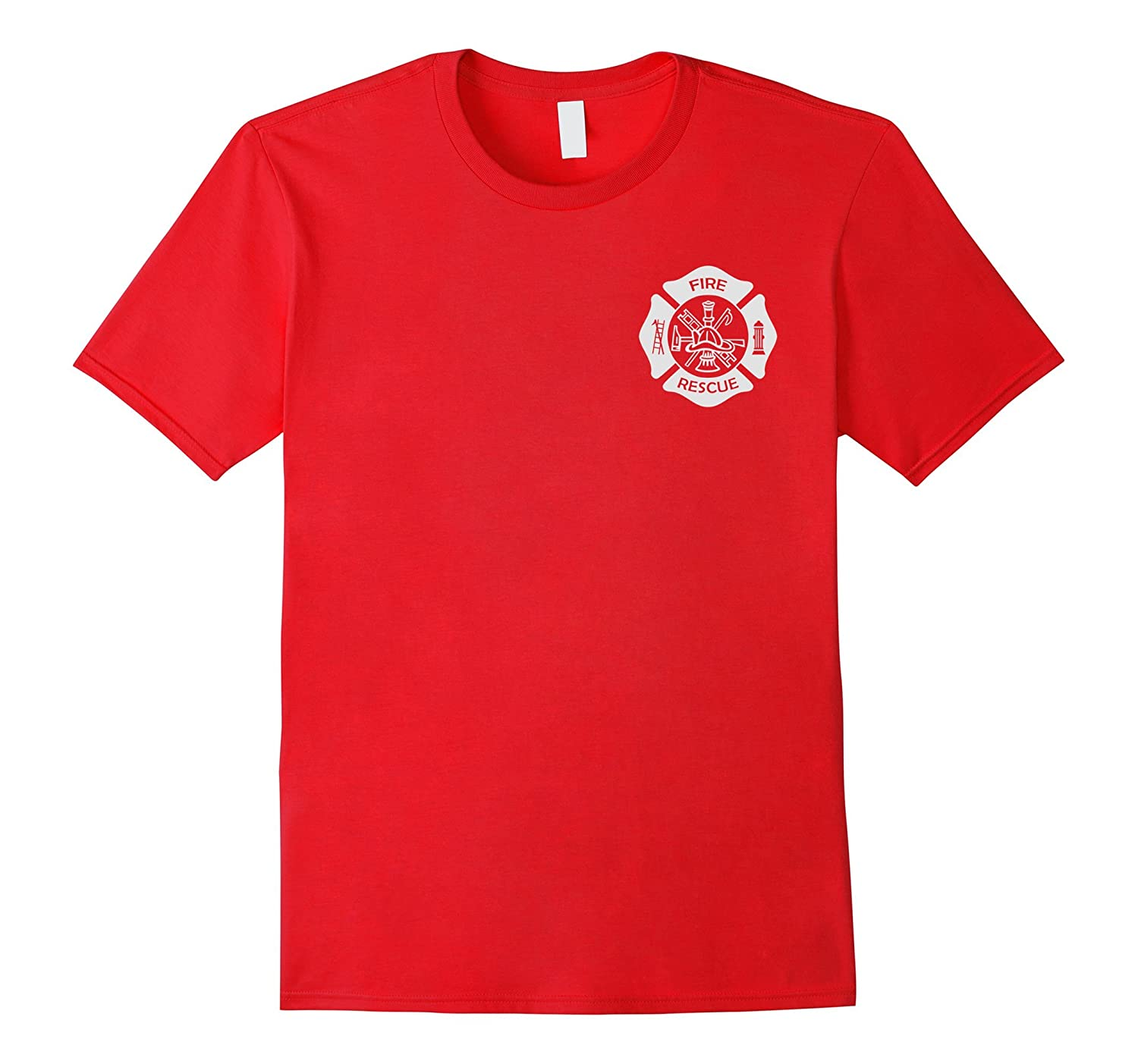 Firefighter Uniform T-Shirt - Official Firemen Gear-FL