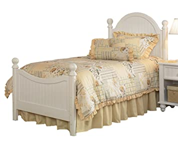 hillsdale westfield white full size bed set