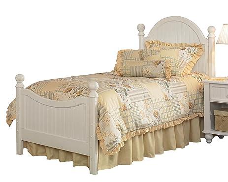Amazon.com: Hillsdale Westfield White Full Size Bed Set: Kitchen ...