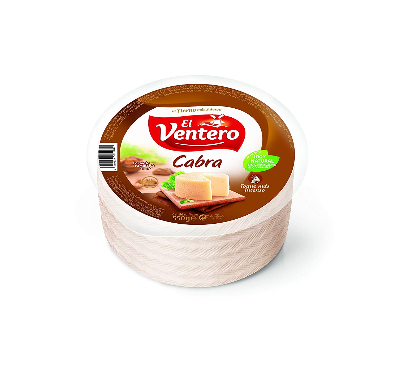 El Ventero, Queso duro artesanales (Leche de cabra) - 550 gr.: Amazon.es: Alimentación y bebidas