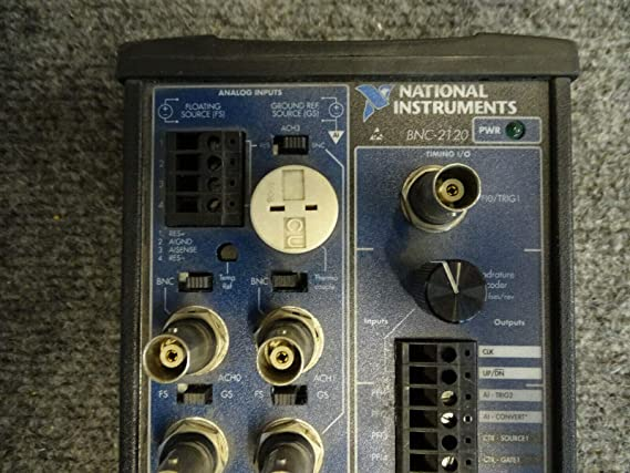 One Genuine National Instruments BNC-2120 Connector Block w//Function Generator