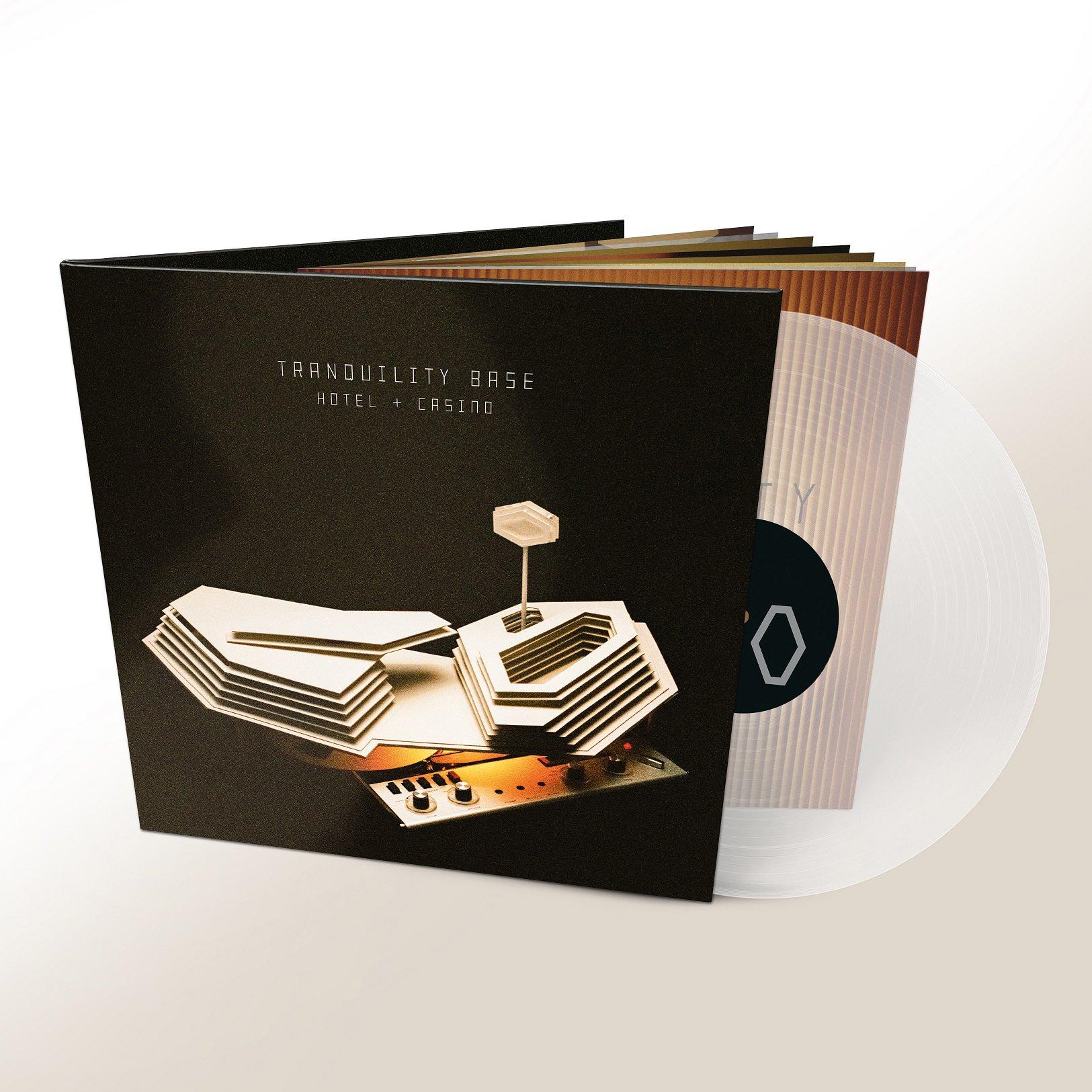 Vinilo : Arctic Monkeys - Tranquility Base Hotel & Casino (Clear Vinyl, 180 Gram Vinyl, Indie Exclusive, Digital Download Card)