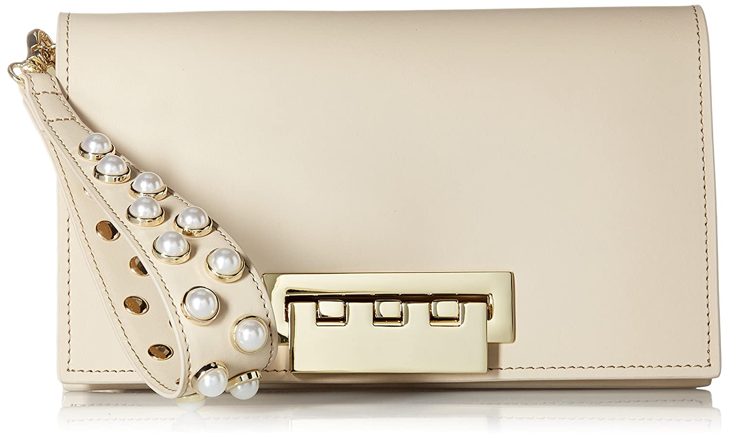 ZAC Zac Posen Earthette Clutch-Sand Dollar with Pearls ZP5137-101