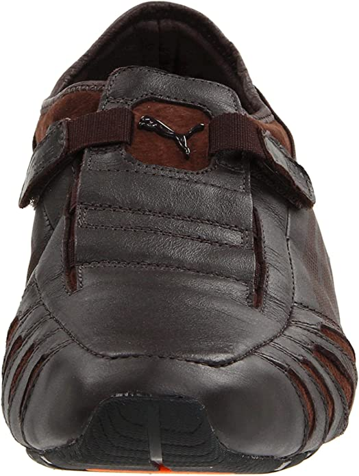 PUMA Mens Vedano Leather Slip-On Shoe