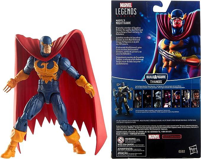 Marvel Legends Avengers End Game NIGHTHAWK Armored Thanos Build A Figure BAF 19