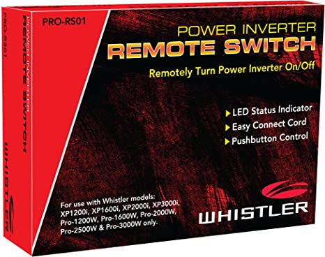amazoncom whistler pro rs01 inverter remote switch electronics