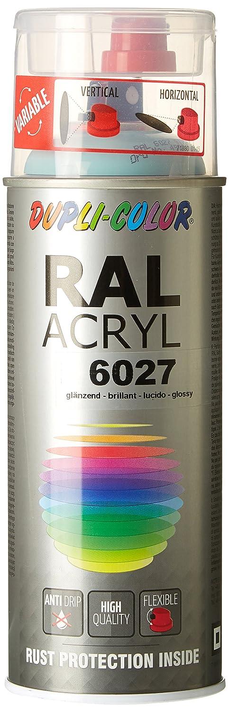 Dupli-Color 490866 RAL-Acryl-Spray 6027, 400 ml, Lichtgrü n Glanz in.pro. Herstellungs- und Vertriebsgesellschaft mbH de automotive INPAK