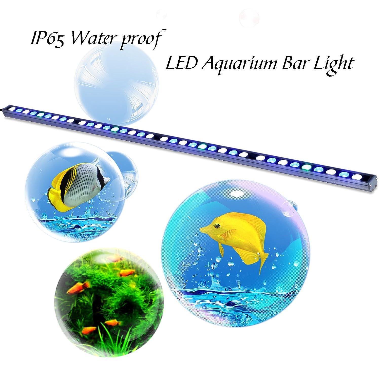Roleadro eclairage aquarium 108w ip65 tanche submersible lampe roleadro eclairage aquarium 108w ip65 tanche submersible lampe led aquarium pour non aquarium poissons corail et plantes 115cm amazon luminaires et parisarafo Images
