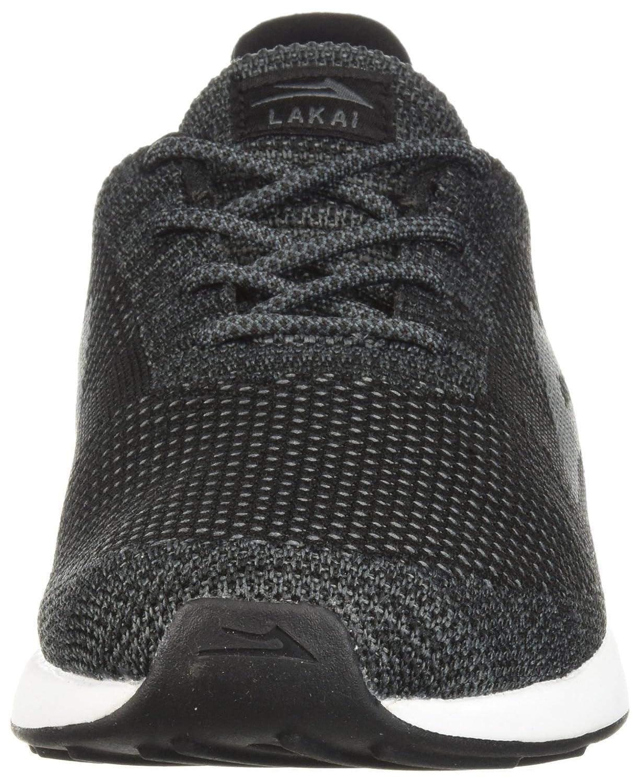 Lakai Limited Footwear Mens Evo B073SPDPHX 12 M US|Black/Grey Knit