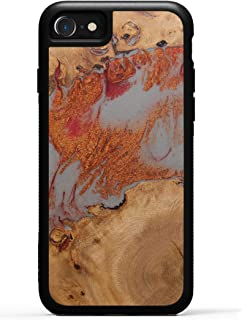 product image for Carved - Wood+Resin Case for iPhone 8 / iPhone 7 / iPhone 6s - One-of-A-Kind, Protective Traveler Bumper Cover (ID: 314249, Random)