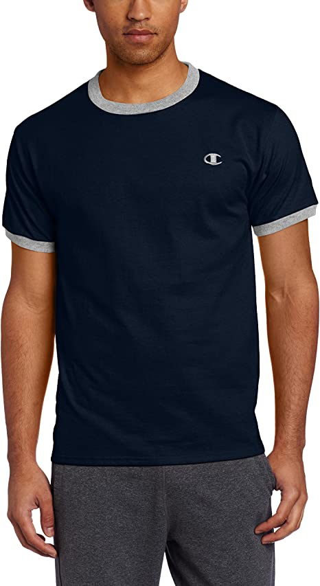 Champion Mens Jersey V-neck T-Shirt Champion Men/'s Athletic T4651