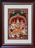 Youth Infomedia Lord Shiva Family Acrylic Photo Frame (40.64 cms x 35.56 cms)