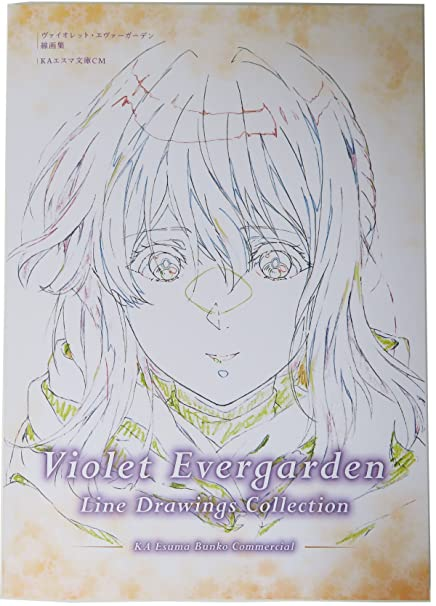 Violet Evergarden -Line Drawings Collection-