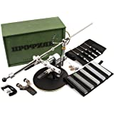 TSPROF K02 Standart Professional Russian Knife Sharpening System, Knife Sharpener with Edge Angle Control for Chefs and Kitchen Knives