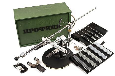 Amazon.com: TSPROF - Afilador de cuchillos profesional - Kit ...