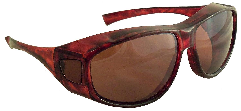 Amazon.com: Sun Shield colocar sobre anteojos de sol con ...