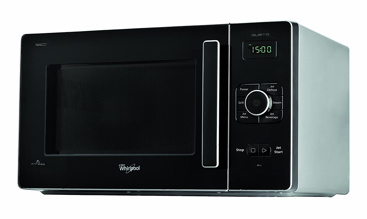 Whilrpool Gusto GT283/SL Microonde grill, Argento Whirlpool microonde; microwave; elettrodomestico; forno; cottura