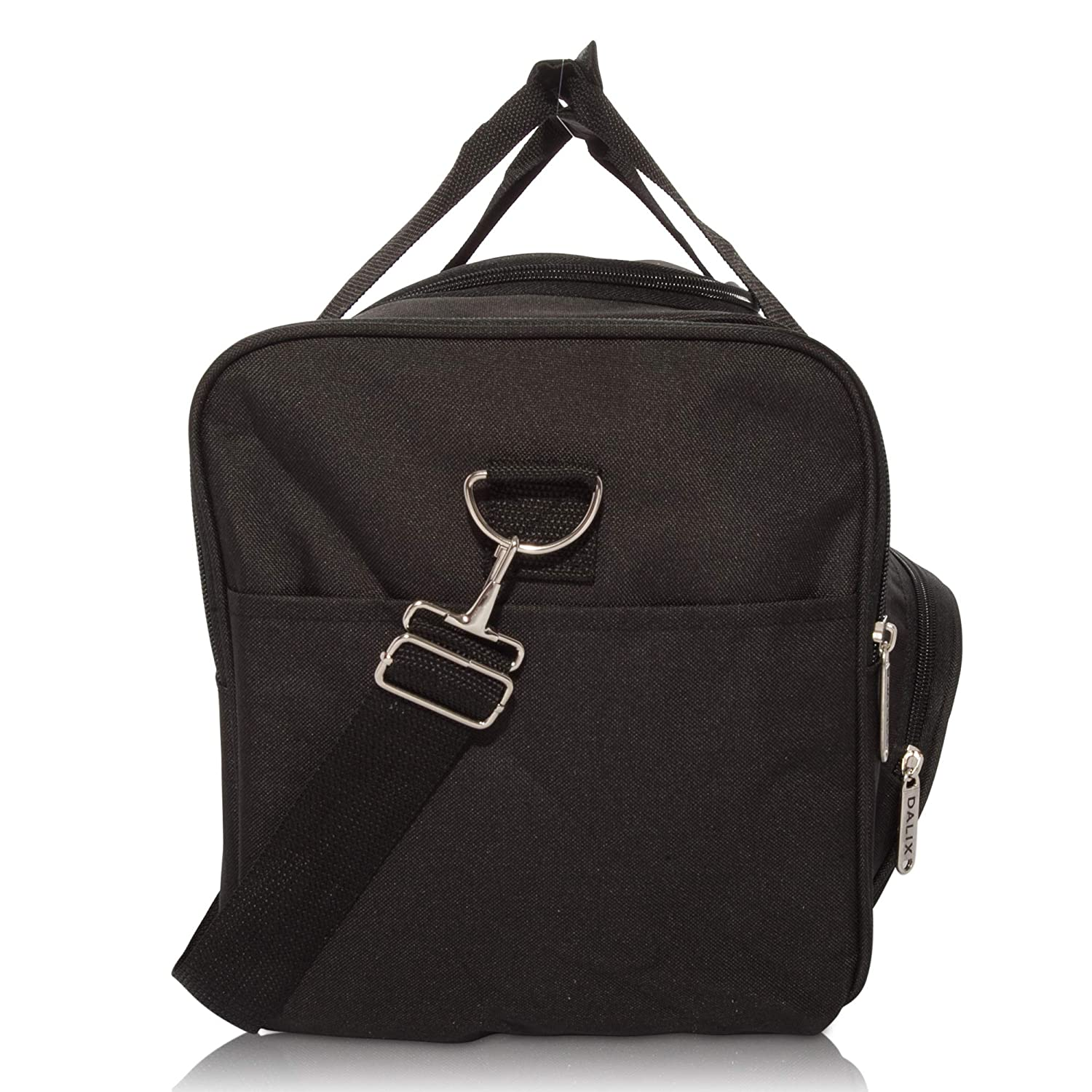 a2a583f5b5 Amazon.com  DALIX Signature Travel or Gym Duffle Bag in Black  Sports    Outdoors