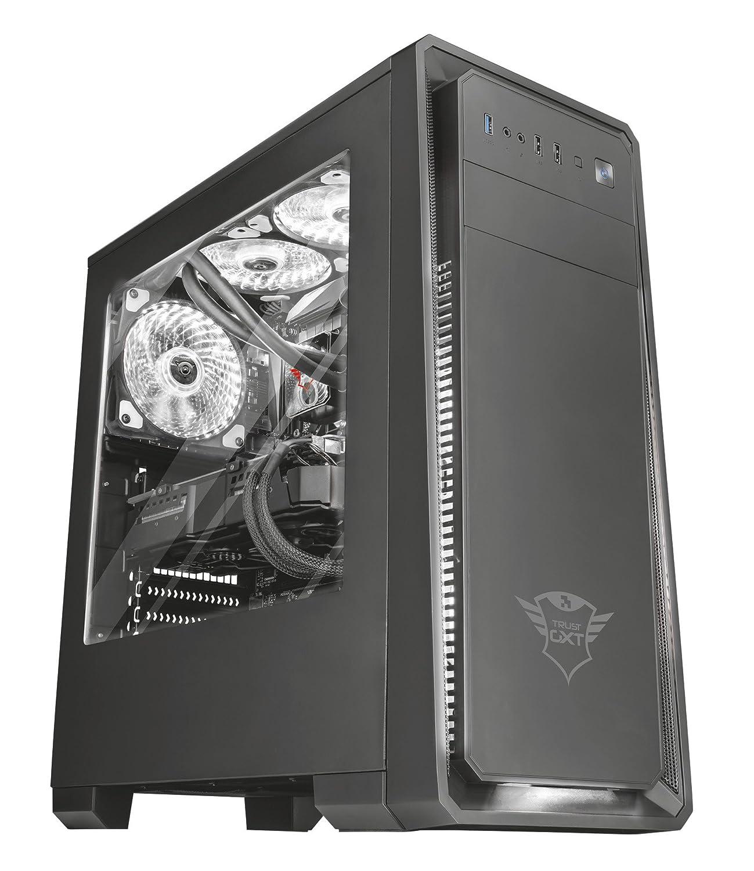 Bianco Trust Gaming GXT 762W Ventola per Case di PC Illuminata
