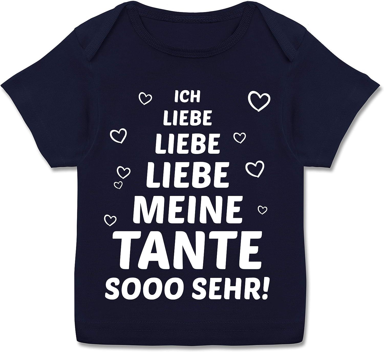 Shirtracer - Sprüche Baby - Ich Liebe Meine Tante so sehr