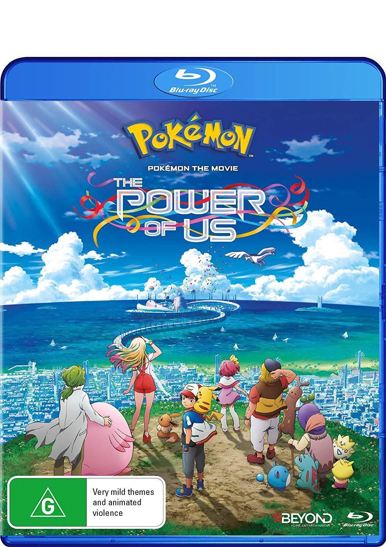 Amazon Com Pokemon The Movie The Power Of Us Blu Ray Tetsuo