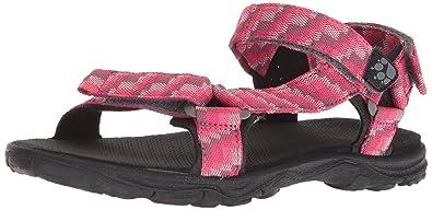 Jack Wolfskin Mädchen Acora Beach Sandal G Sport, Pink (Tropic Pink), 36 EU