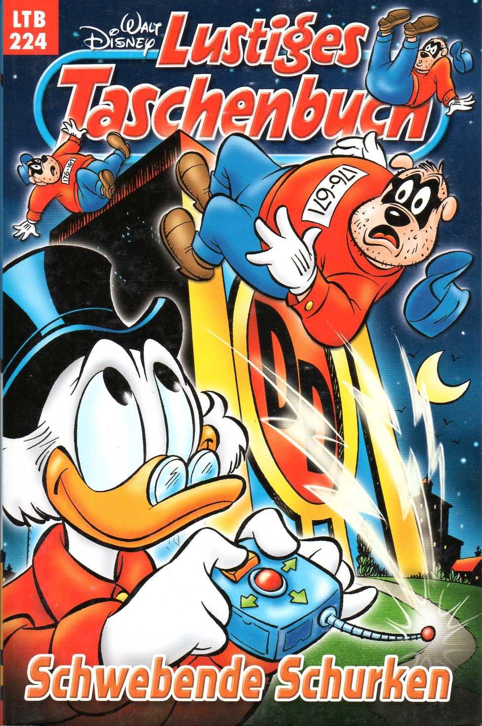 Walt Disney  LTB Lustiges Taschenbuch Band 224  Schwebende Schurken   Donald Duck Und Micky Maus Comics Für Deine Sammlung